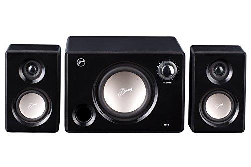 Swans Speakers - M10B - Powered 2.1 Computer Speakers - Surround Sound -...