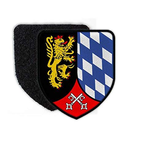 Copytec Patch Panzerbrigade 12 Amberg PzBrig B&eswehr Abzeichen Aufnäher Klett #24462