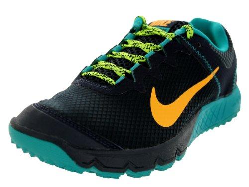 Nike Women's Zoom Wildhorse Drk Obsdn/Atmc Mng/Trb Grn/Vlt Running Shoe 6.5 Women US