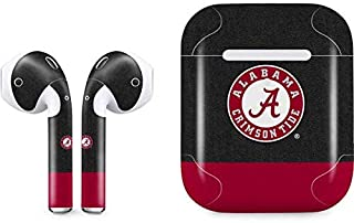 Skinit Decal Audio Skin for Apple AirPods with Wireless Charging Case - Officially Licensed College Alabama Crimson Tide Logo Design