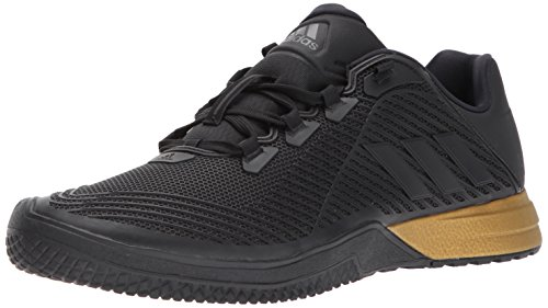 adidas Men's CrazyPower TR M Cross Trainer, Black/Utility Black/Tactile Gold, 10.5 Medium US