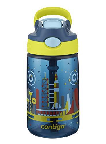 Contigo Gizmo Flip Botella, Unisex-Baby, Cardinal Rock, 420 ml