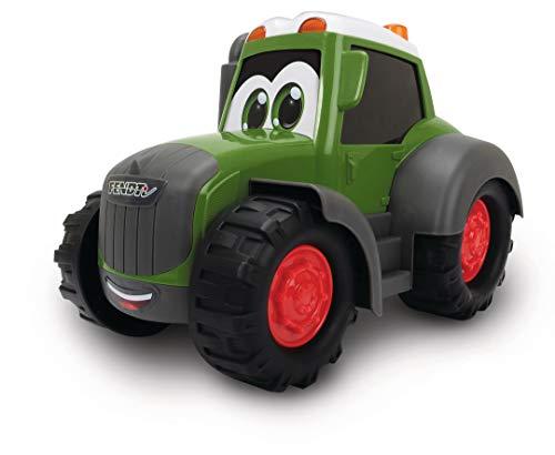 Dickie Toys Happy Fendt Traktor, Trecker, Bauernhof Spielzeug, keine verschluckbaren Teile, für Kinder ab 1 Jahr, 25 cm
