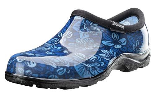Sloggers Waterproof Rain & Garden Clogs Shoes, Floral Spring Surprise