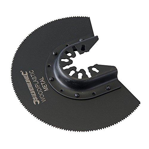Silverline 557277 HSS-Segmentsägeblatt 88-mm-Segmente