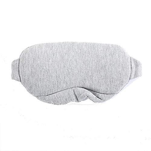 BAIZAN Algodón sueño Cubierta del Ojo, Gafas del apagón del sueño, la luz de Ojos máscara para Dormir para Mujeres y Hombres, Ideal para Viajar con la Bolsa,1