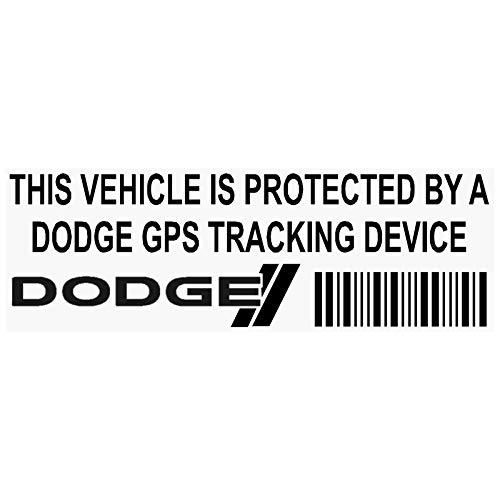 5x ppdodgegpsblk GPS dispositivo de seguimiento de seguridad ventana pegatinas 87x 30mm-car, Van alarma Tracker