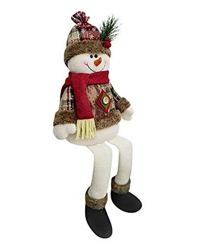 CATLXC - Decorazioni natalizie per Natale, pupazzo di neve seduto