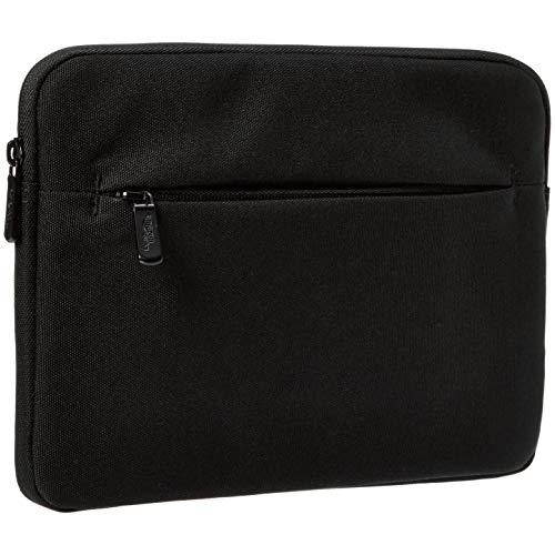 Amazon Basics - Custodia per tablet con tasca frontale, 25,4 cm, nero