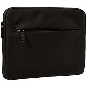 AmazonBasics Tablet Sleeve with Front Pocket, 10″, Black