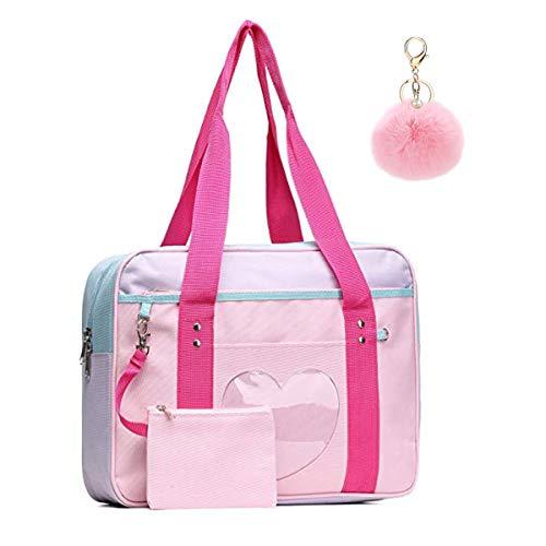 Puyang Ita Bags - Bolso Mano Forma corazón Ventana