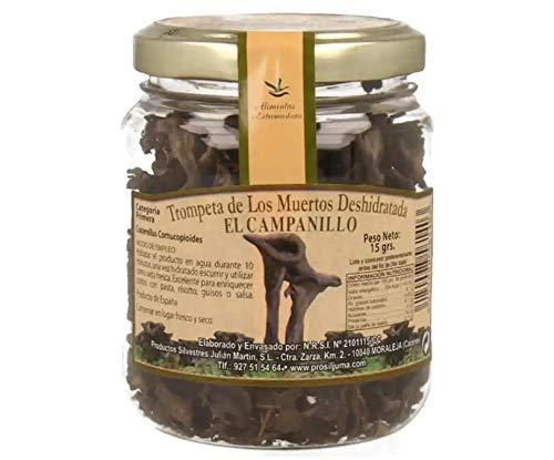 El Campanillo- Trompeta de los muertos deshidratada - Categoria PREMIUM- Ideal para todo tipo de comidas- 15 g.
