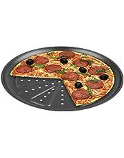 CHG 9776-46 Bandeja para Hornear Pizza, 2 Piezas, Diámetro: Aprox. 28 Cm, De Calidad Profesional, Resiste Temperaturas De hasta 250°