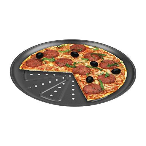 CHG 9776-46 Teglia per Pizza, 2 Pezzi, Diametro Ca. 28 Cm, in Nuova qualità Professionale, Resistente al Calore Fino A 250 Gradi
