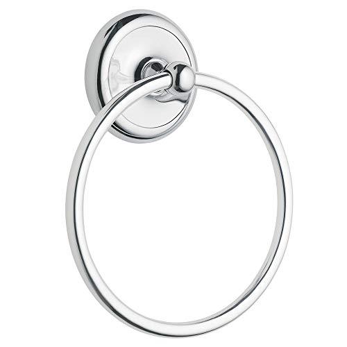 Moen 5386CH Yorkshire Bathroom Hand Towel Ring, Chrome, Small