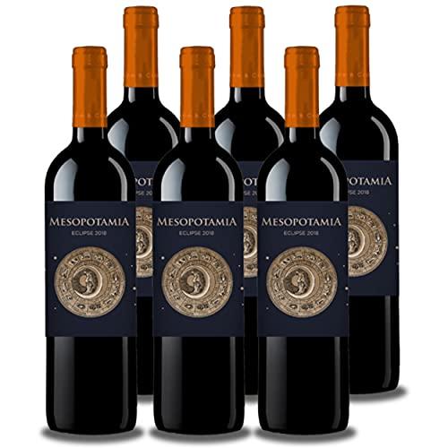 Vino de Toro MESOPOTAMIA ECLIPSE 2018 (6 bot x 75 cl.) - Vino Tinto Toro 10 meses en barricas francesas - Vino tinto sabroso, elegante y equilibrado