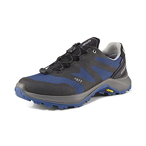 Grisport Kruis - Zapatillas de senderismo para hombre y mujer, impermeables, color Azul, talla 44 EU