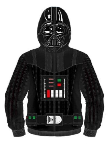 Star Wars - Hombre darth vader costume sudadera negro small