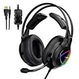 Tronsmart Alpha PS4 Gaming Headset Xbox one Stereo-Gaming-Kopfhörer mit Mikrofon...