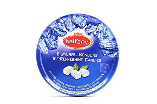 kalfany Eiswürfel Bonbons Dose