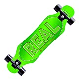 Longboard Skateboard Cruiser Tavola completa Maple Longboard Ragazzi e ragazze Brush Street Dance Board Teen Beginners Longboard-A