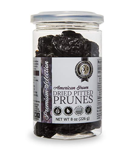 Herb Guru American Grown Dried Pitted Prunes, 8 oz