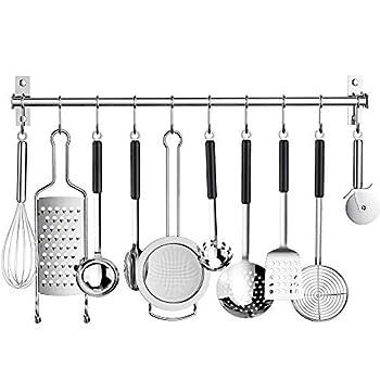 Best kitchen utensil hanging rack Reviews