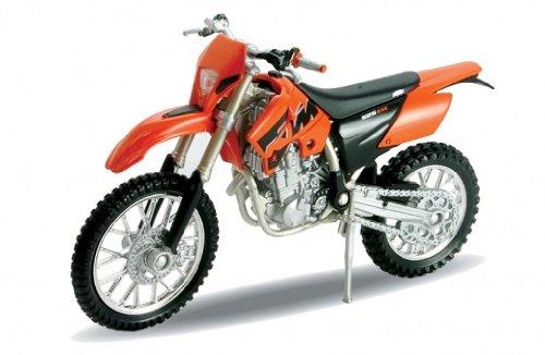Welly KTM 525 EXC, Motocross Motorrad Modell 1:18