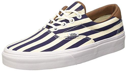 Vans Unisex-Erwachsene U Era 59 Sneaker, blau/weiß, 38 EU
