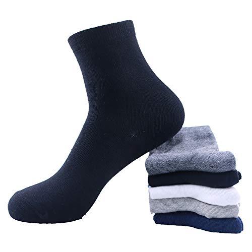 Tigerstar Men's 5 pairs of cotton moisture wicking socks