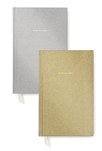 Kate Spade New York Glitter Journal Set, Glitter