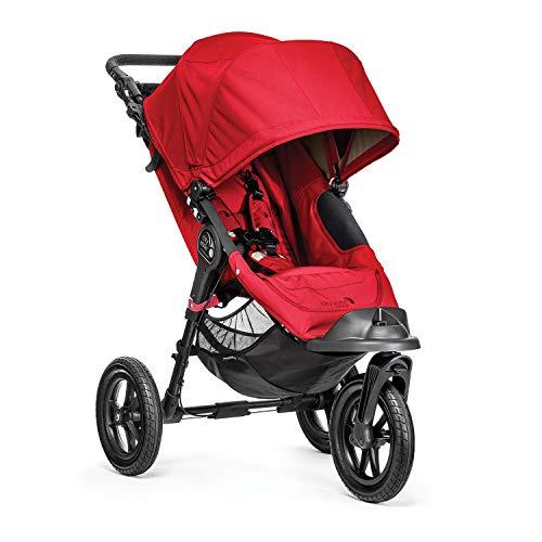 Baby Jogger Poussette 3 Roues Elite Single Rouge