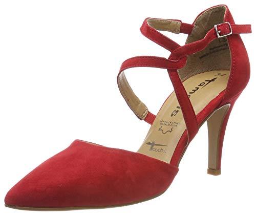 Tamaris Damen 1-1-24425-22 Slipper, Rot (Lipstick 515), 40 EU