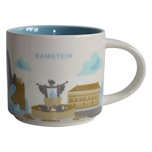 Starbucks City Mug Ramstein You are here collection