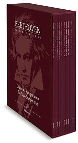 Die neun Symphonien : Partitur, Sammelband, Urtextausgabe : Orch