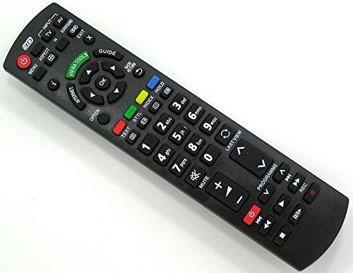 Ersatz Fernbedienung für Panasonic TV TX-L42ETW5 TX-L42ETW5W TX-L42WT50B TX-L47ET5 TX-L47ET5B TX-L47ET5E