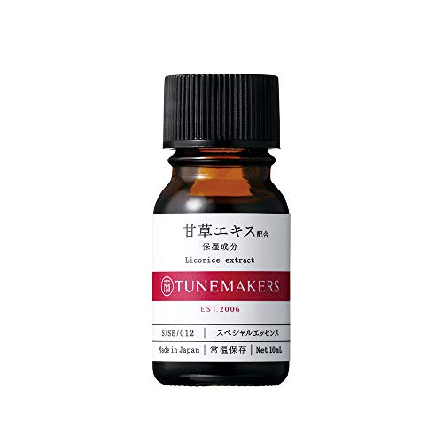 TUNEMAKERS Licorice Extract Face Moisturizing Serum Essence for Women and Men with Pore Problems, Acne and Rough Skin, Keep Skin Hydrating and Moistrizing 0.34 fl oz
