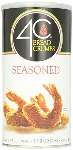 4C Bread Crumbs, Flavored, 24 oz