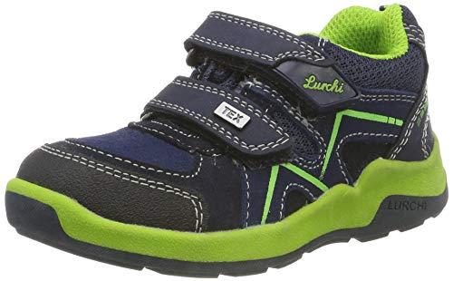 Lurchi Jungen Matthias-TEX Sneaker, Blau (Navy 22), 31 EU