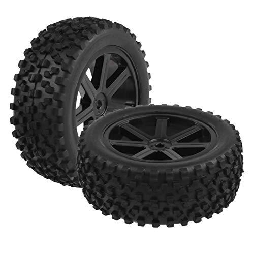 STOBOK 4Pcs Rc Autoreifen Buggy Räder Mini Offroad Reifen Gummireifen Auto Spielzeug Räder Auto Spielzeug Teile für Kinder Kinder