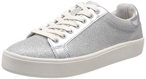 Tamaris Damen 1-1-23774-22 919 Sneaker, Silber (Silver Glam 919), 40 EU