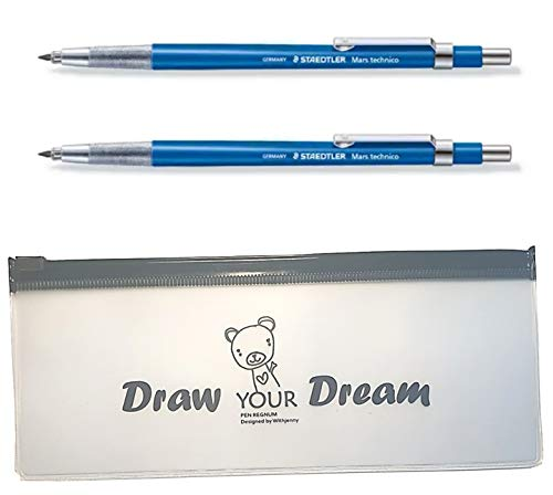 Staedtler Technical Mechanical Pens Pencil - Technico Mars 780C Lead Holder 2pcs & Additional