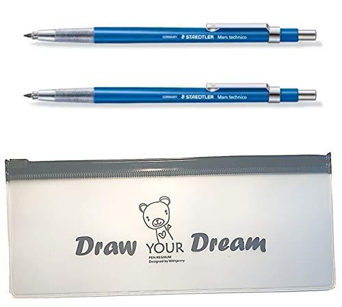 Staedtler Technical Mechanical Pens Pencil - Technico Mars 780C Lead Holder 2pcs & Additional