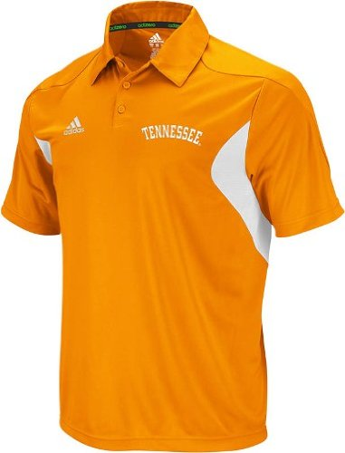 Adidas Tennessee Volunteers 2011 Sideline Adizero Orange Performance Polo Shirt Chemise