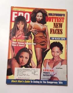 Ebony October 1998 Lisa Nicole Carson & Traci Bingham & Tamia & Suzzanne Douglas Cover, K-Ci & JoJo - Music
