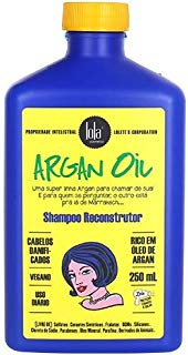 Argan Oil Shampoo reconstrutor Argan e Pracaxi, Lola Cosmetics