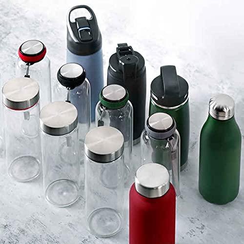 BERGNER Botella Termo 500ML Acero INOX Walking Anywhere, Unisex Adulto, Multicolor, Talla única