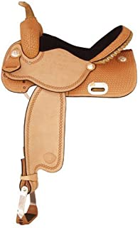 Finals Round Saddle by Tex Tan Saddle