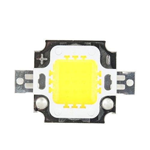 uxcell 10W LED Chip Cool White Bulb High Power Energy Saving SMD Lamp Light Bead DIY DC 9-11V