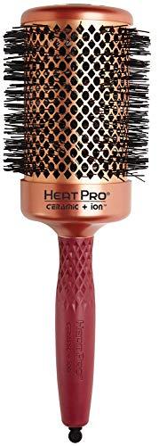 Olivia Garden Heat Pro Brosse Thermale Ronde, Diamètre 62mm - Antistatique, Barrilet Cuivre/Céramique et Poils Nylgard - Résistance Incomparable à La